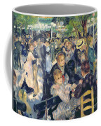 Ball At The Moulin De La Galette Coffee Mug