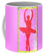 Ballet Dancer Coffee Mug by David G Paul