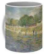 Bank Of The Seine Paris, May - July 1887 Vincent Van Gogh 1853 - 1890 Coffee Mug