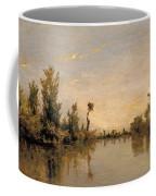 Banks Of The Seine Coffee Mug