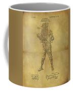 Baseball Catcher's Mask Patent Coffee Mug