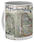 Battle Of Lake George, 1755 Coffee Mug