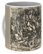 Battle Of Nude Men Coffee Mug