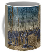 Battle Of The Wilderness, 1864 Coffee Mug by Photo Researchers