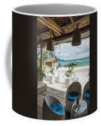 Beach Bar In Sok San Area Of Koh Rong Island Cambodia Coffee Mug