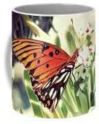 Beach Butterfly Coffee Mug