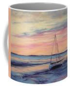 Beached At Sunset Coffee Mug