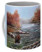 Bear In Fall Coffee Mug