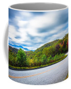 Beautiful Autumn Landscape In North Carolina Mountains Coffee Mug