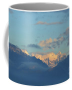Beautiful Countryside Of The Italian Mountains With A Cloudy Sky Coffee Mug