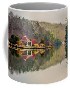 Beautiful Landscape Near Lake Lure North Carolina Coffee Mug