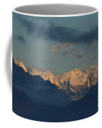 Beautiful Scenic View Of The Mountains In Italy  Coffee Mug