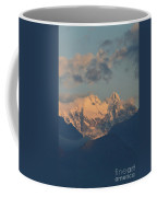 Beautiful View Of The Dolomites Mountains In Italy  Coffee Mug