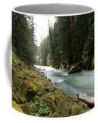 Beautiful White Water Coffee Mug