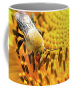 Bee And Sunflower Coffee Mug