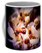 Bee On Apple Blossoms Coffee Mug