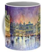 Belgium Brussel Grand Place Grote Markt Coffee Mug