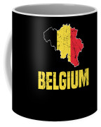 Belgium Flag Apparel Coffee Mug