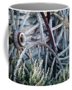 Belmont Broken Wagon Wheels 1649 Coffee Mug