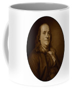 Benjamin Franklin - Three Coffee Mug