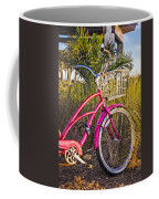 Bicycle At The Beach II Coffee Mug