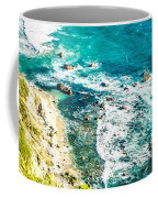 Big Sur California Coastline On Pacific Ocean Coffee Mug