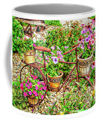 Bike Blossoms Coffee Mug