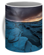 Bisti Fissure New Mexico Coffee Mug