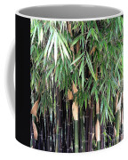 Black Bamboo Coffee Mug