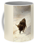 Black Beast Wanderer Coffee Mug by Joseph Denovan Adam
