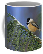 Black-capped Chickadee Coffee Mug by Tony Beck