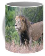 Black Maned Lion Coffee Mug