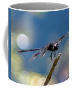 Black Spotted Dragonfly Coffee Mug