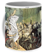 Blaine Cartoon, 1884 Coffee Mug