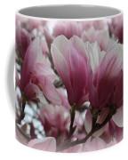 Blooming Pink Magnolias Coffee Mug