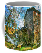 Blowing Cave Mill Near Smoky Mountains Of East Tennessee Coffee Mug