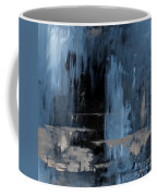 Blue Abstract 12m2 Coffee Mug