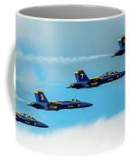 Blue Angels Formation  Coffee Mug