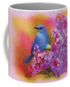 Blue Bird In The Lilac's Coffee Mug