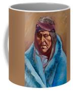Blue Blanket Coffee Mug