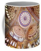 Blue Mosque Interior Coffee Mug