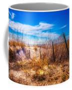 Blue Sky Over The Dunes Coffee Mug