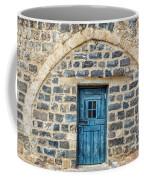 Blue Traditional Door Coffee Mug