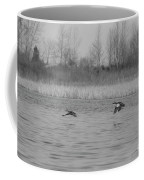 Blue Wing Teal Pair Coffee Mug