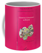Book Cover Education Et Citoyennete Au Rwanda Coffee Mug