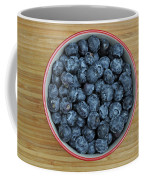 Bowl Of Fresh Blueberries Coffee Mug