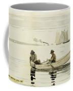 Boys Fishing Coffee Mug