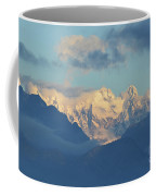 Breathtaking Scenic View Of The Alps In Italy  Coffee Mug