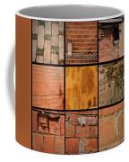 Bricks Collage  Coffee Mug
