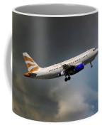British Airways Airbus A319-131 Coffee Mug